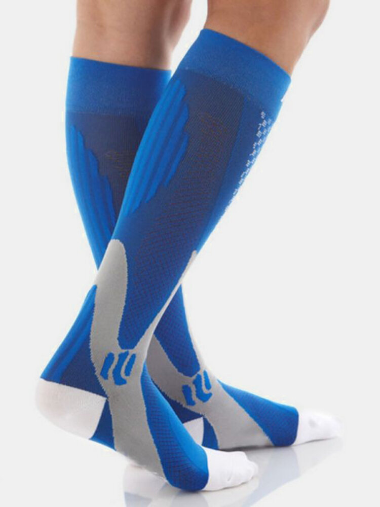 Magic Compression Elastic Stockings For Men Outdoor Football Sport Shoes