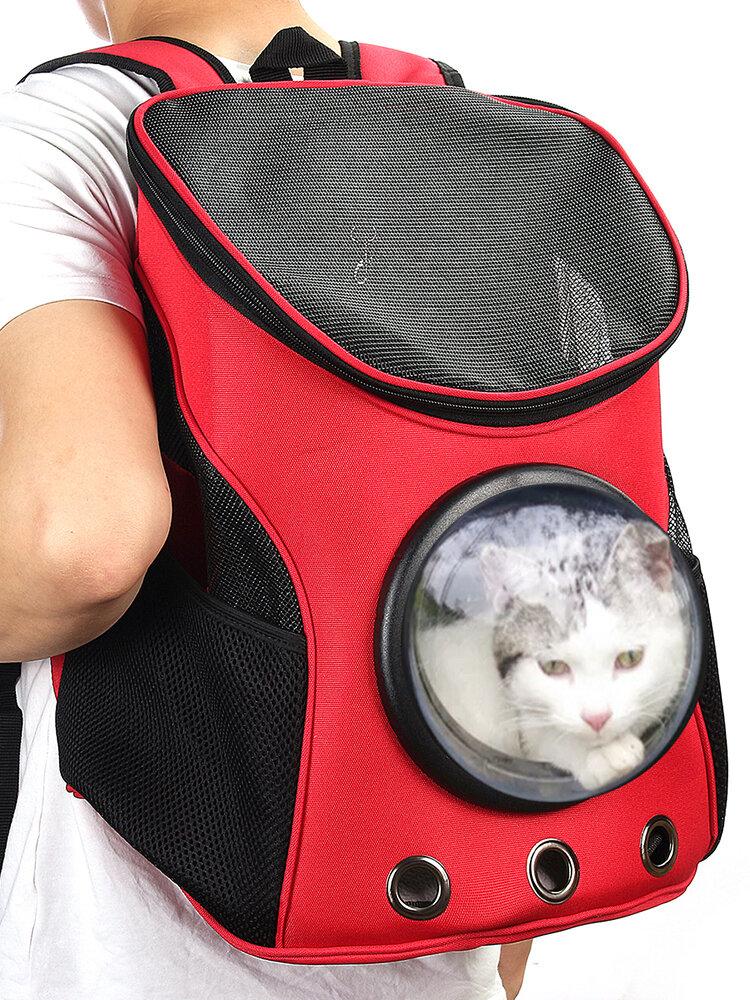 Sac à dos respirant astronaute pour animaux domestiques