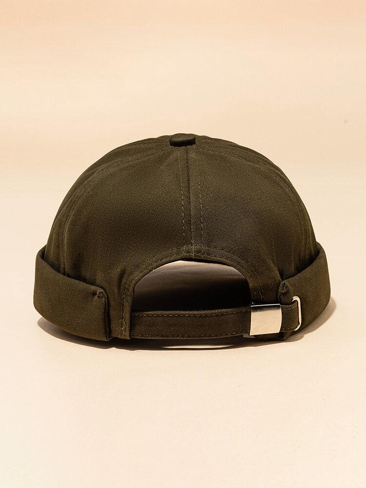 Men & Women Casual Street Retro Hip Hop Innocent Landlord Hat Sailor Brimless Hats