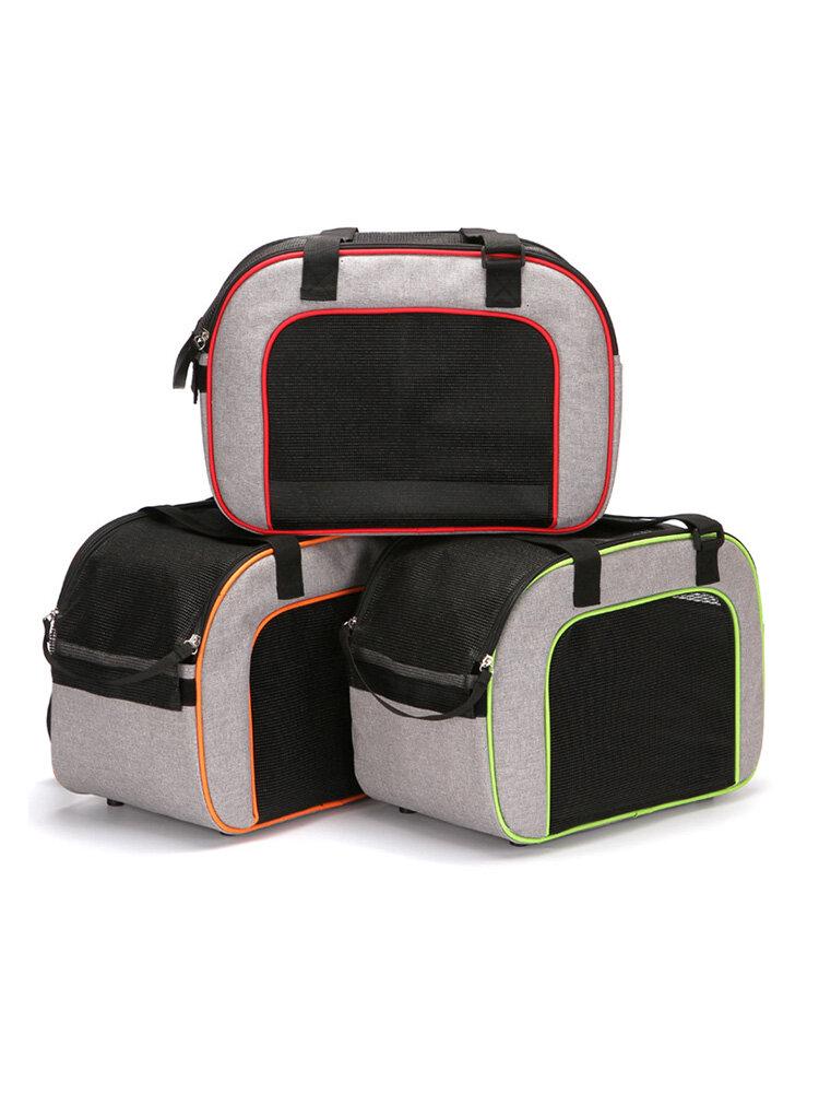 Pet Shoulder Bag Cat Dog Out Convenient Package Breathable Diagonal Pet Out Bag