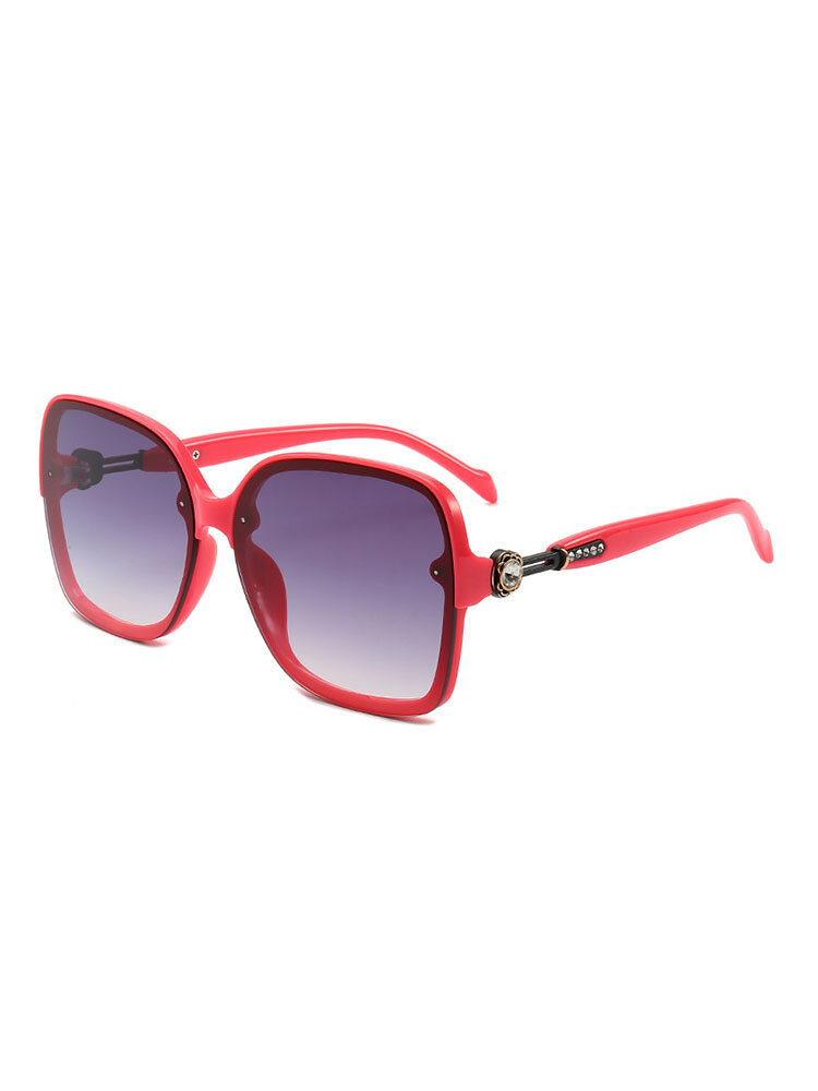 Women Men Vogue HD Anti-UV  PC Sunglasses Fashion Travel Riding Driving Sunglasses