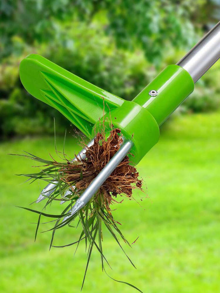 Giardino Prato Stand Up Erbaccia Estrattore Radice Manico Alluminio Leggero Piantagione Giardino Strumenti