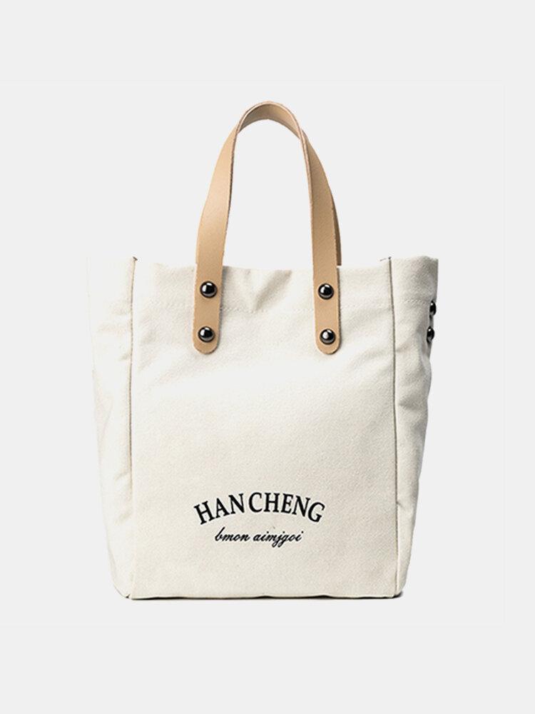 2PCS Casual Canvas Handbag Crossbody Bag Shoulder Bags Handbag