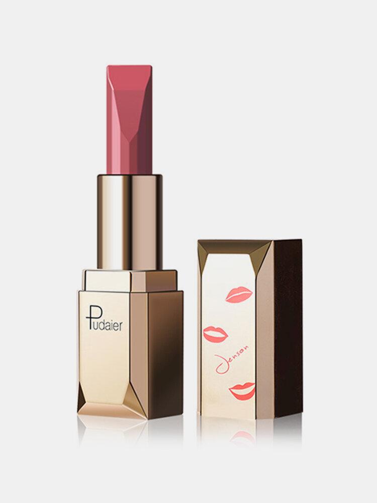 Pudaier Matte Velvet Lipstick Moisturizing Vitamin E Lips Red Lip Make Up Cosmetic