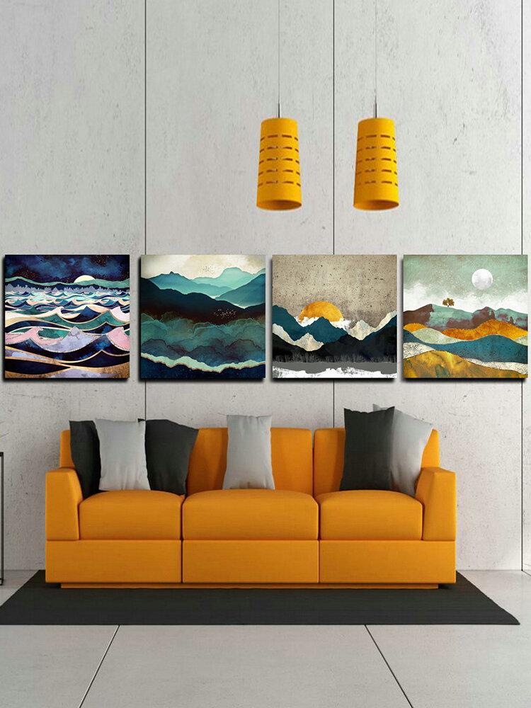 Paysage impression toile murale Art photo décorer la maison salon