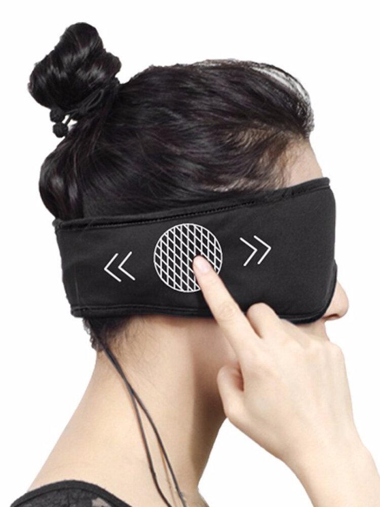 Sleep Headphones Washable Eye Mask Smart App Control Sound Blocking Noise Cancelling Earphone