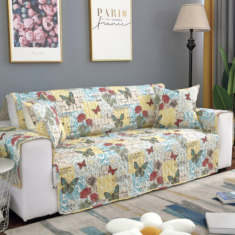 Sensational Butterfly Pattern Microfiber Pet Couch Sofa Furniture Protector Cover Waterproof Sofa Protector Mat Andrewgaddart Wooden Chair Designs For Living Room Andrewgaddartcom