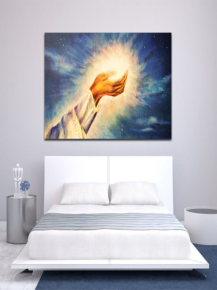 Hand Painted Oil Paintings Light of Christ Wall Art Home Decoration Paintings