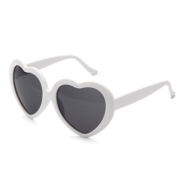 Funny Retro Love Heart Shape Anti-UVA And UVB Sunglasses