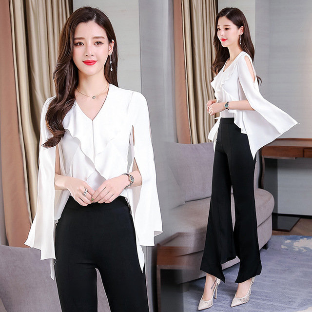 Temperament Elegant Simple And Comfortable Shirt Solid Color New Season Fashion Ol Personality Shirt Women's Clothing