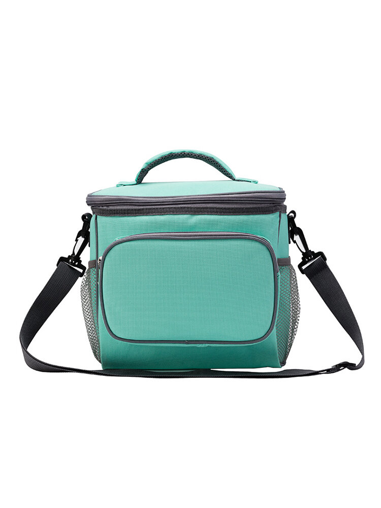 Insulated Lunch Bag Large Cooler Tote Bag for Men Women Cooler Bag Students Outdoor Picnic
