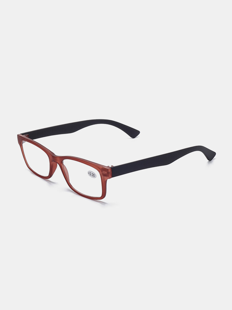 Womens Mens Removable Fashion Vintage Light Flexible Square Reading Glasses