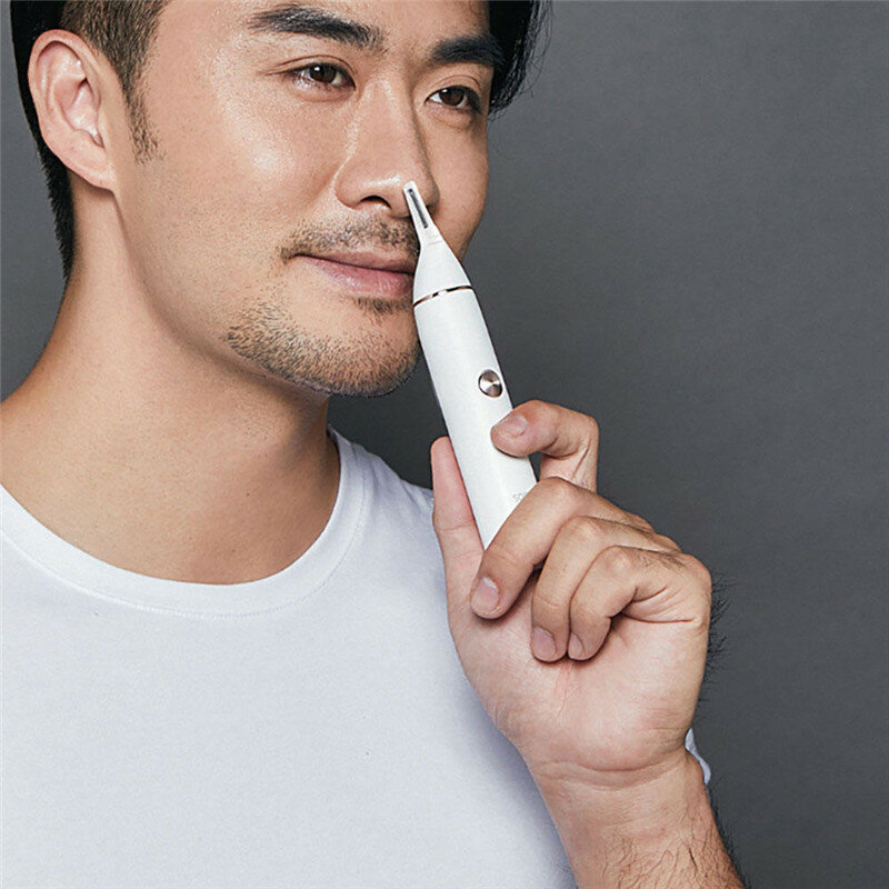 Multifunctional Nose Ear Hair Trimmer Nose Ear Temple Hair Electric Trimmer Men Care Tool