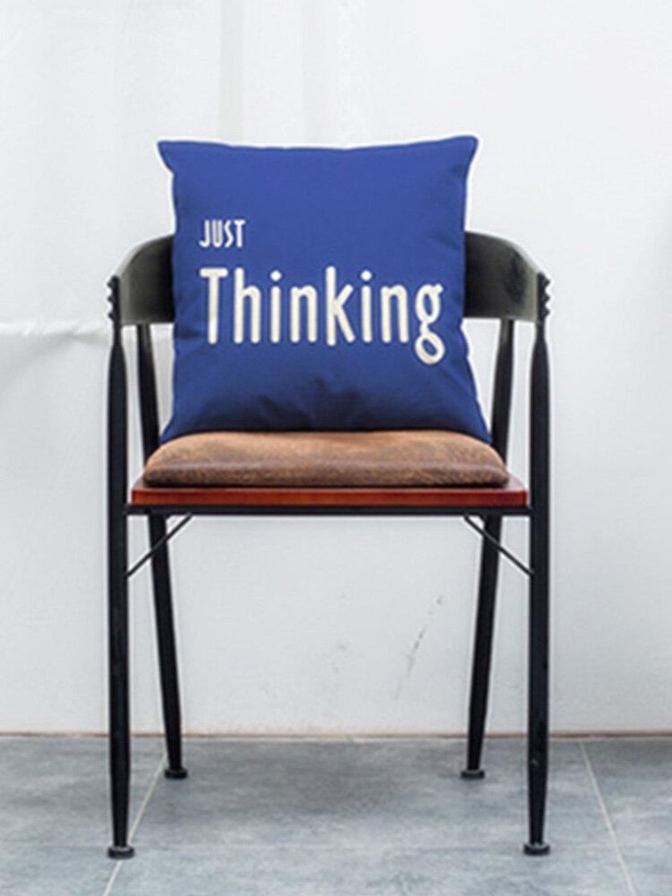 Soft Plush Modern Minimalist Style Deer Nordic Cotton Pillowcase For Home Sofa Decoration