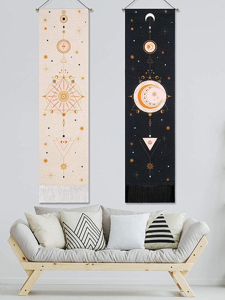 نسيج بوهيمي مرحلة القمر نمط الفن ديكور المنزل غرفة المعيشة غرفة نوم الديكور