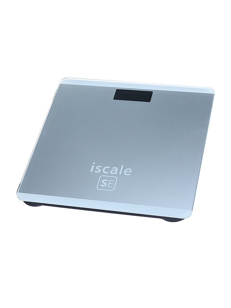400lb/180kg LCD Electronic Digital Tempered Glass Body Weight Scale Bathroom