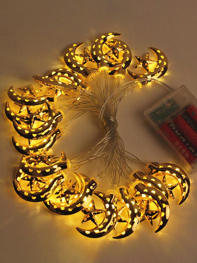 3 Meter LED Ramadan Decoration Eid Mubarak Decor Mubarak Led Light Kareem Decoration Happy Eid Islam Gift