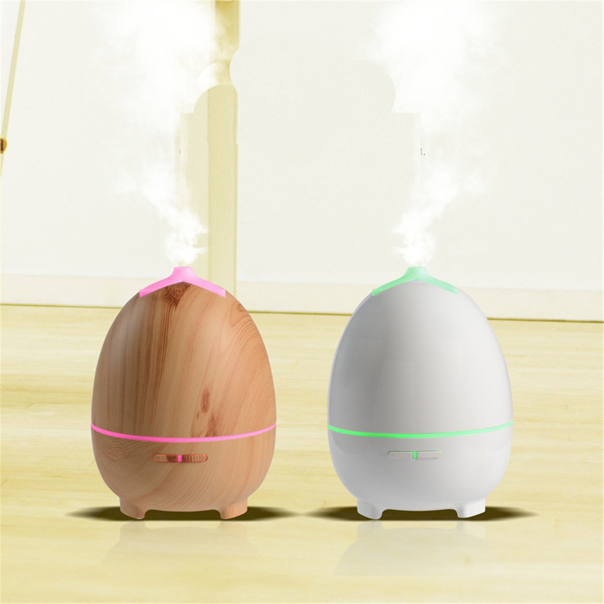 Aroma Essential Oil Diffuser Ultrasonic Air Humidifier 7 Color Chang LED Lights For Office Room