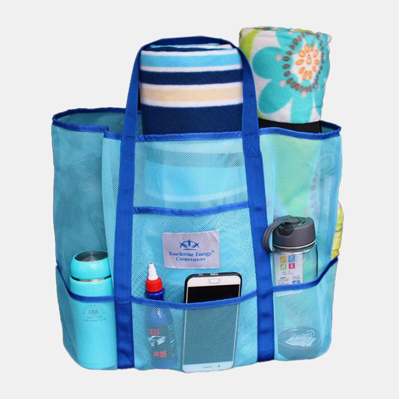 女性旅行サマービーチ大容量ハンドバッグ収納バッグ