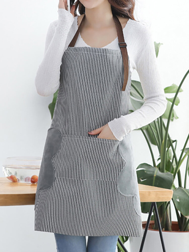 Oxford Cloth Waterproof Apron Antifouling Wear And Tear Resistant Pinafore