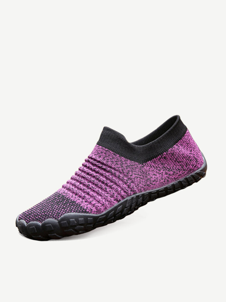 Large Sizes Womens Comfortable Breathable Outdoor Athletic Slip On Sock Shoes