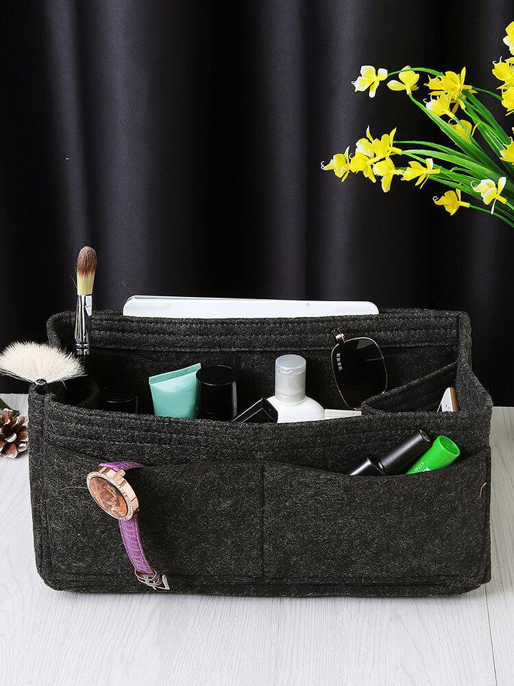Filzeinsatz Organizer Multi Pocket Liner Bag