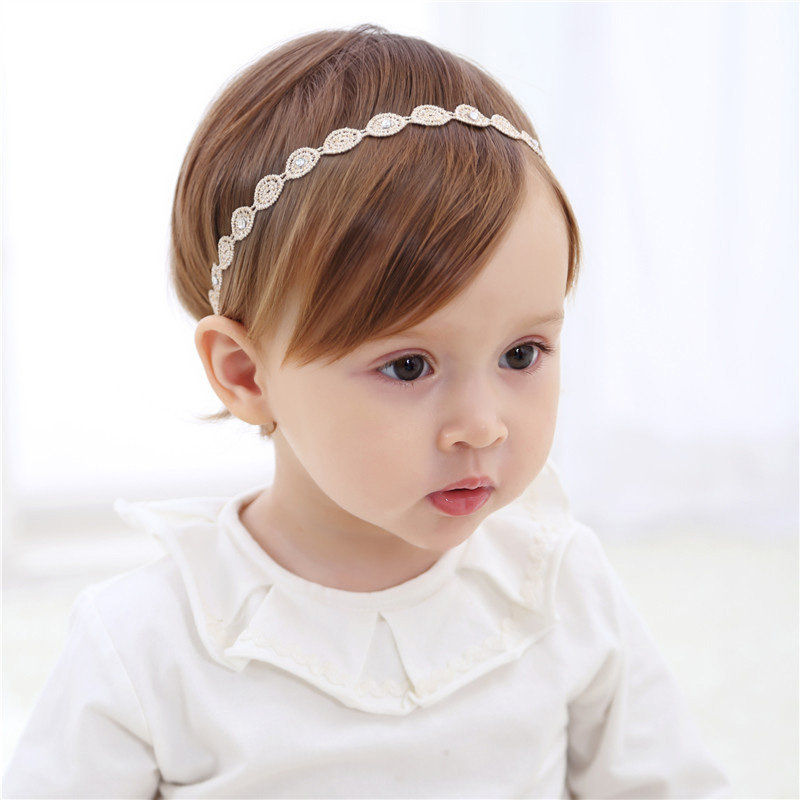Round/Bowknot/Leaf Baby Girls Hair Accessories For 0-3 Years