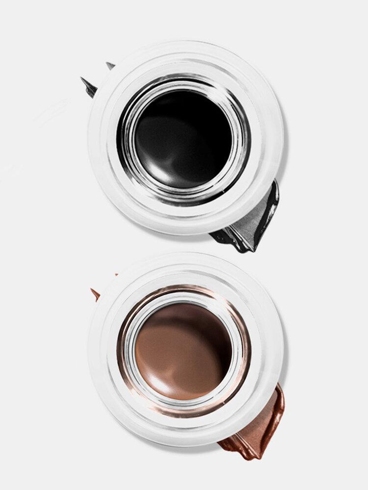5 Colors Dual-Use Eyeliner Gel Cream Waterproof Long-Lasting Eyebrow Cream Eyeliner