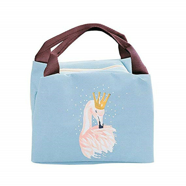 257710536a66 Flamingo Lunch Bag Portable Insulated Thermal Food Picnic Lunch Bags Cooler  Bag