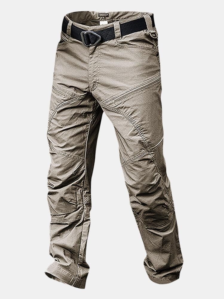 Pantalones militares tácticos impermeables con multi-bolsillos outdoor para hombres