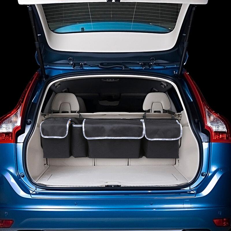Sac de rangement de voiture en tissu Oxford multifonction sac de rangement pour siège de voiture sac suspendu sac à l'extérieur