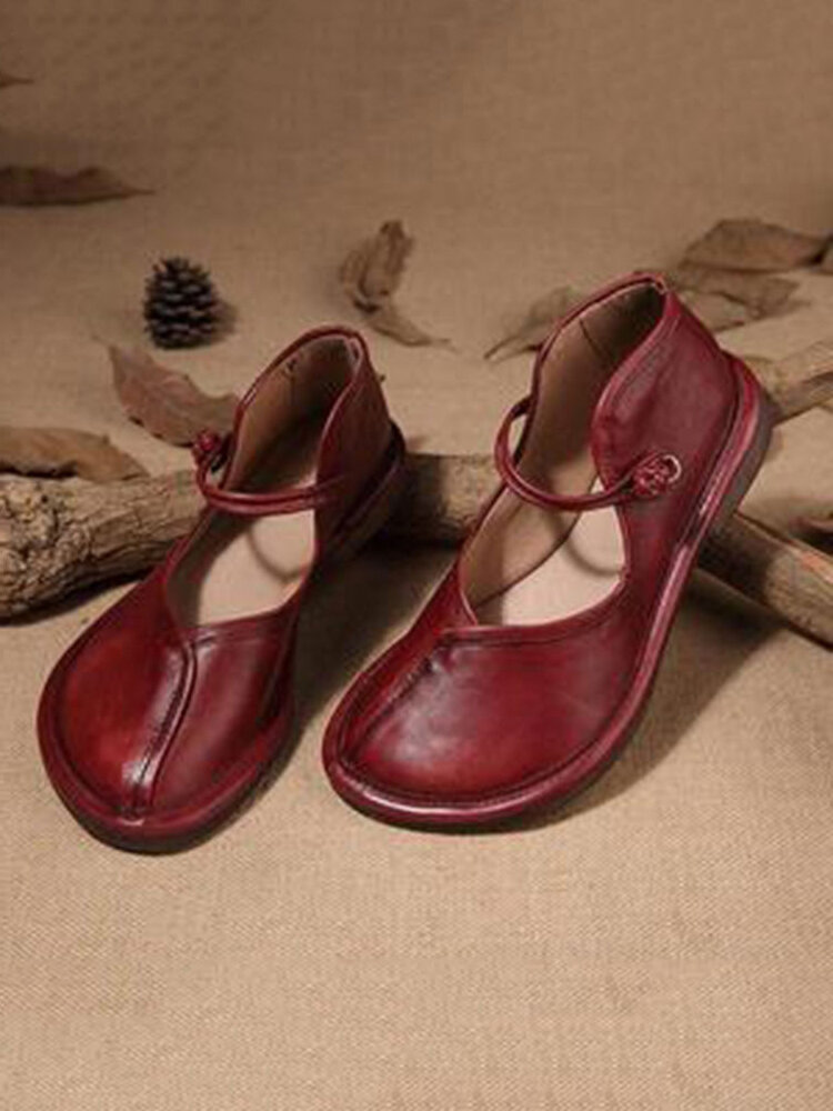 Women Big Round Toe Brief Slip On Comfortable Flat Loafers Shoes