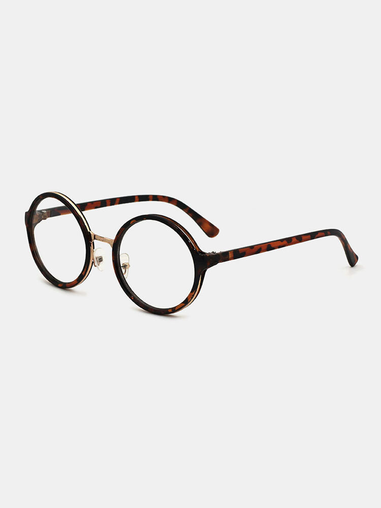 Women Positive Round Shape Hawksbill Casual Brief Full Frame Glasses