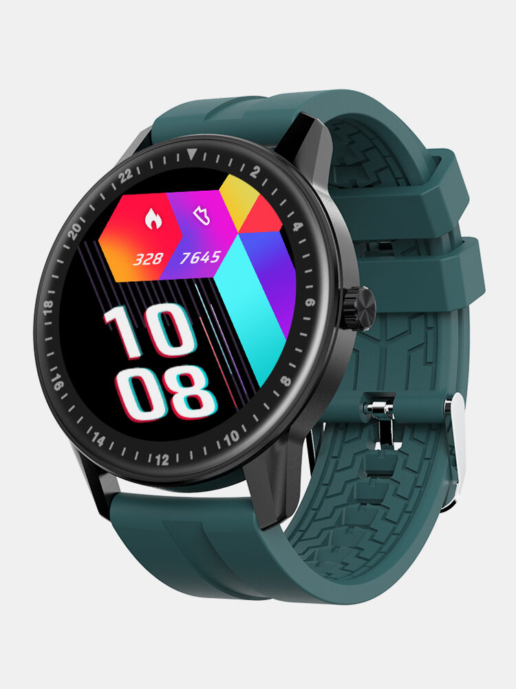 Full Touch 360*360 Resolution Screen GPS Route Track 30 Days Standby Heart Rate SpO2 Monitor Health Calculator Smart Watch
