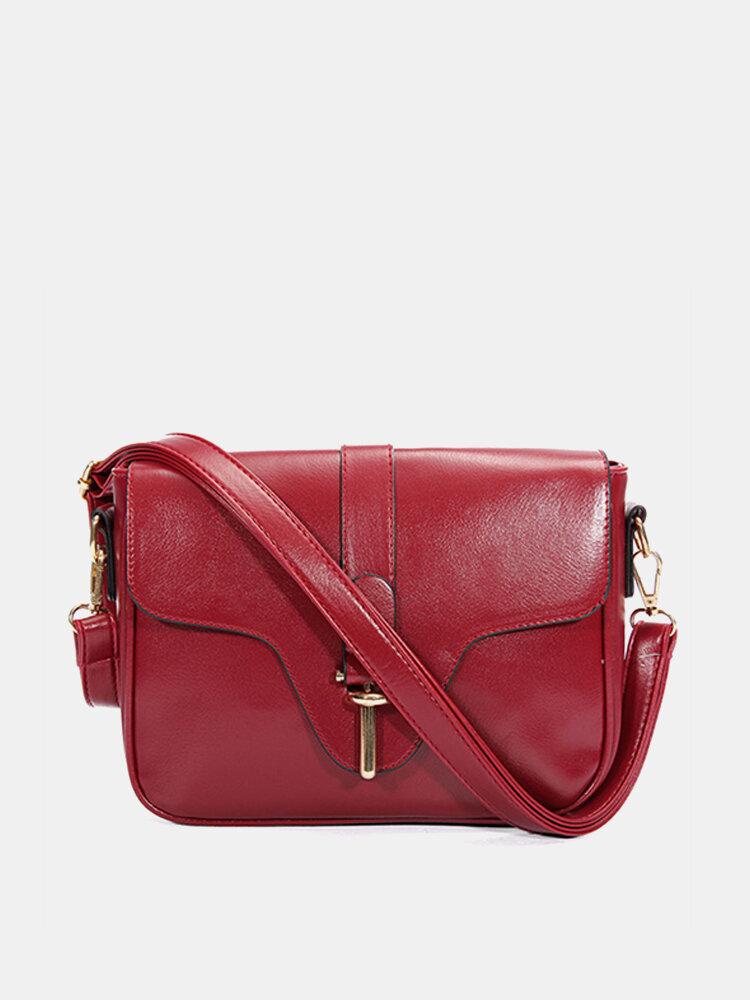 Women Vintage Casual Crossbody Bag Retro Shoulder Bag Gilr Messenger Bag