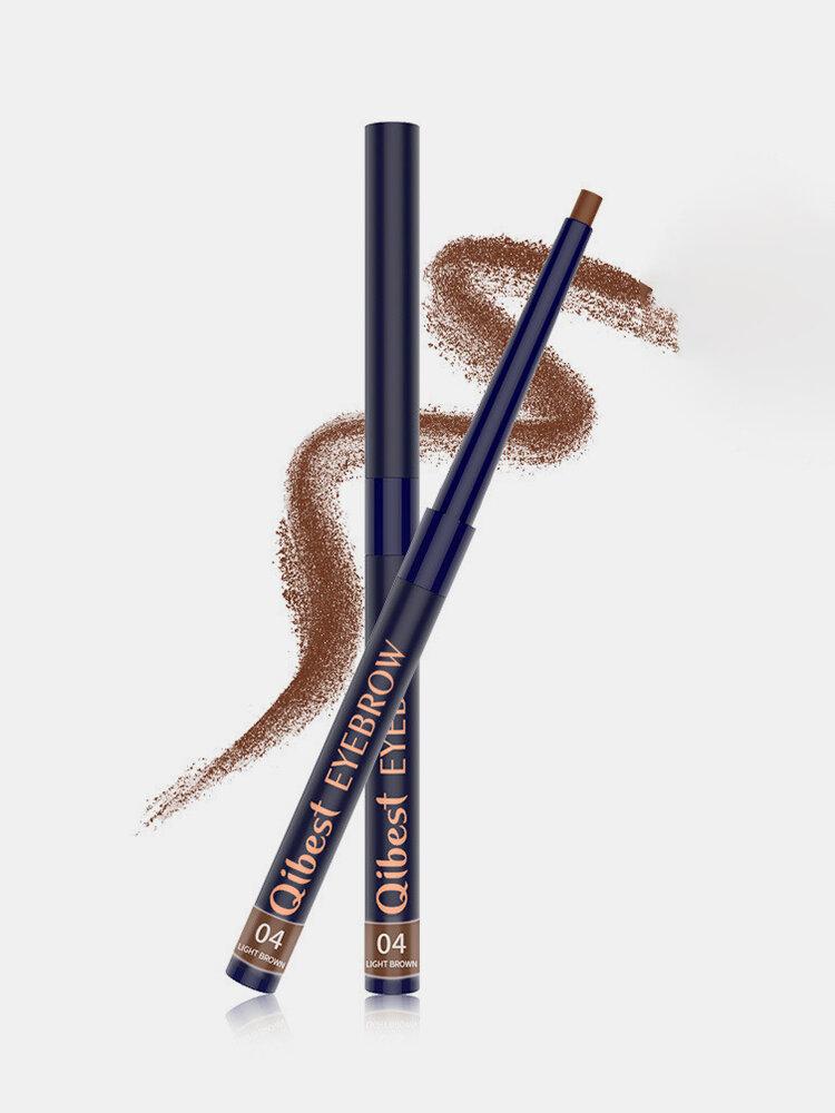 قلم حواجب بيضاوي الشكل دوران تلقائي طويل الأمد ضد للماء بودرة حواجب مقاومة للعرق