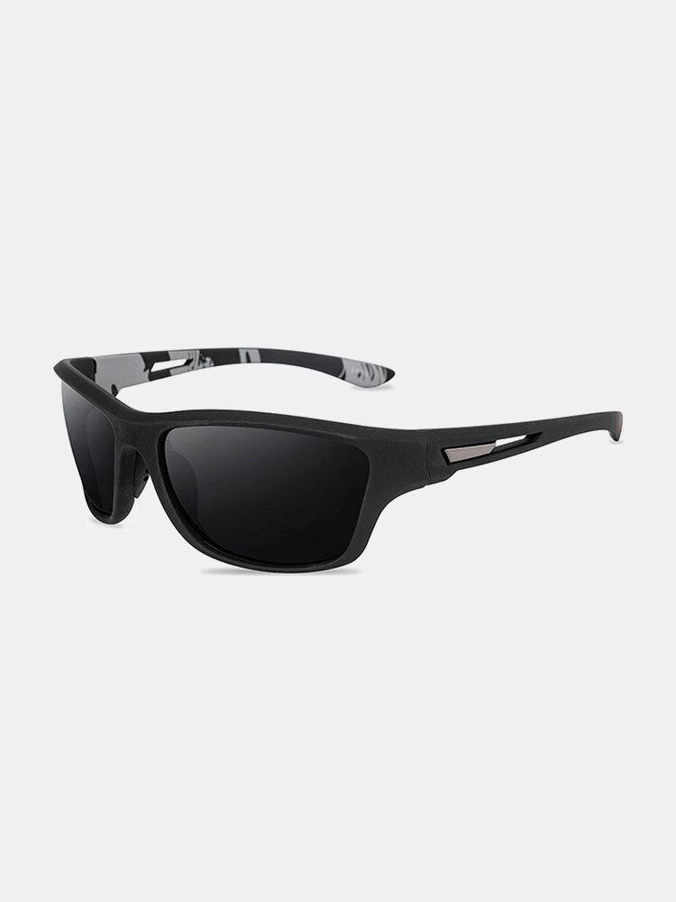 نظارة شمسية رجالية بإطار كامل ومضادة للأشعة فوق البنفسجية مستقطبة غير رسمية للقيادة الرياضية في الهواء الطلق