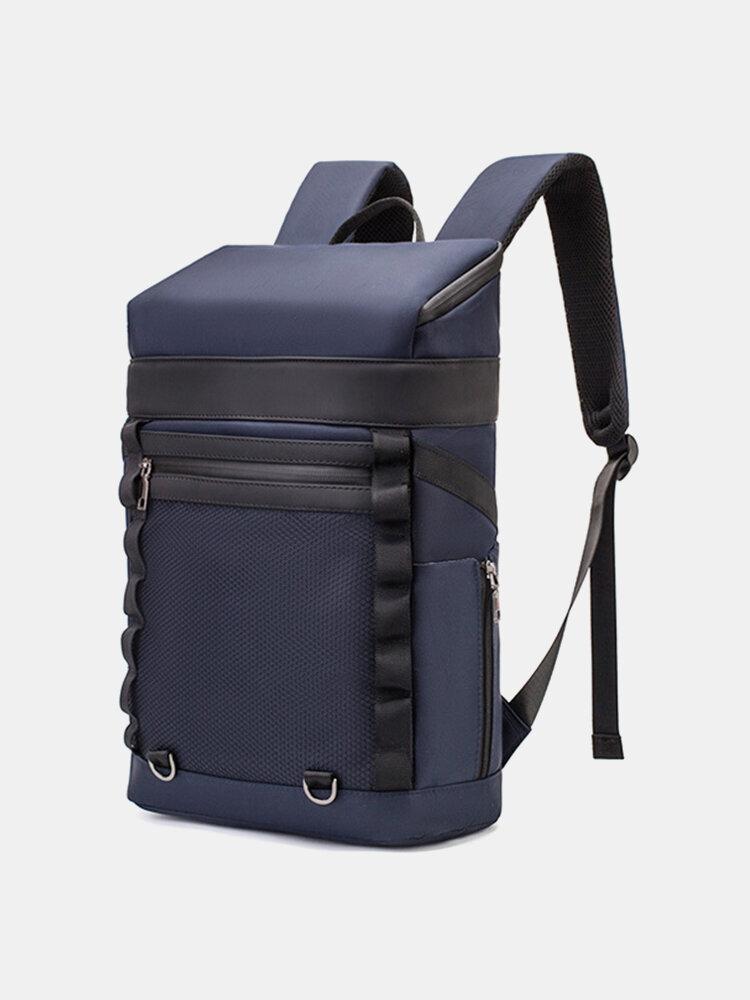 पुरुषों की बड़ी क्षमता आउटडोर खेल पनरोक 15.6 इंच लैपटॉप बैग लंबी पैदल यात्रा यात्रा बैग