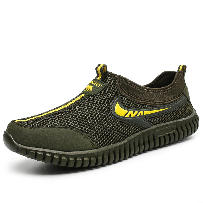 Men Breathable Mesh Shoes Outdoor Sport Casual Sneakers