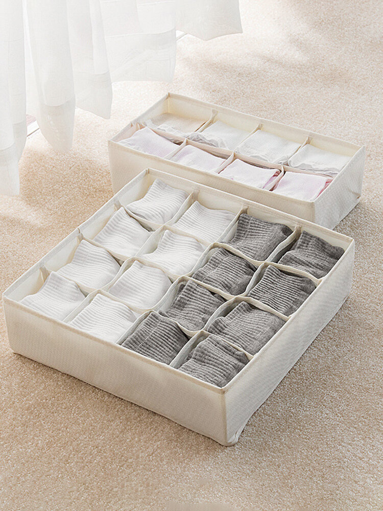 Fabric Underwear Storage Box Home Sorting Organizer
