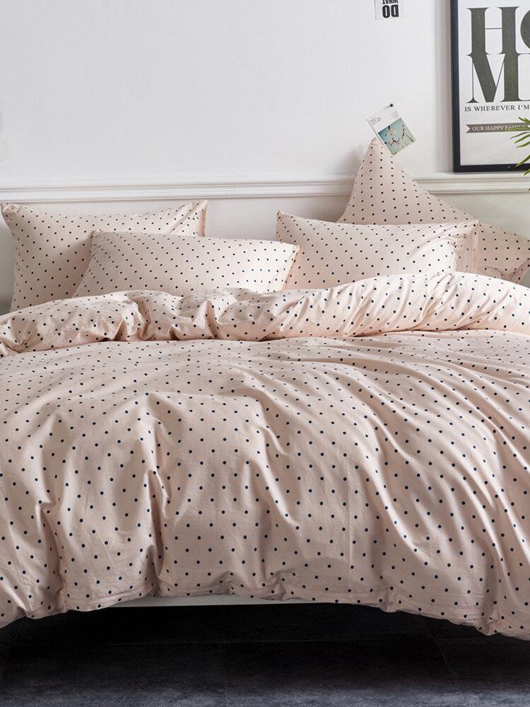 Quilt Three-Piece Home Textile Kit Duvet Cover Bedding Cotton Kit Bedding
