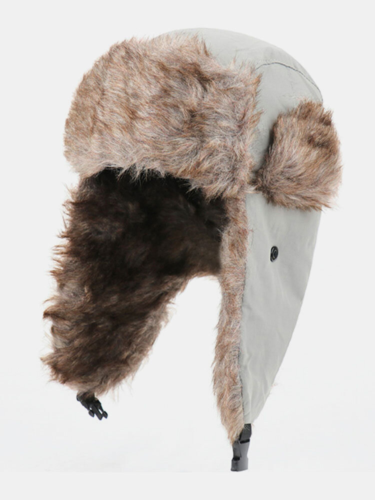 Men Cold-proof Winter Trapper Hat Thick Winter Hat Ear Protection Trapper Hat