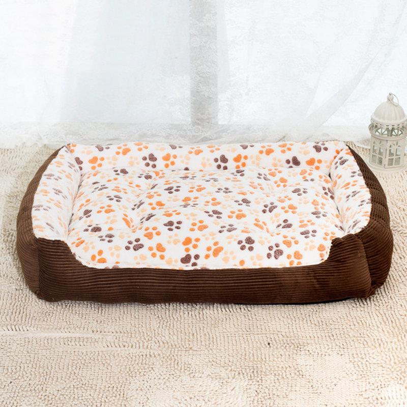 hapet soft sofa kennel dogs cats house for large dogs padded dog bed rh newchic com