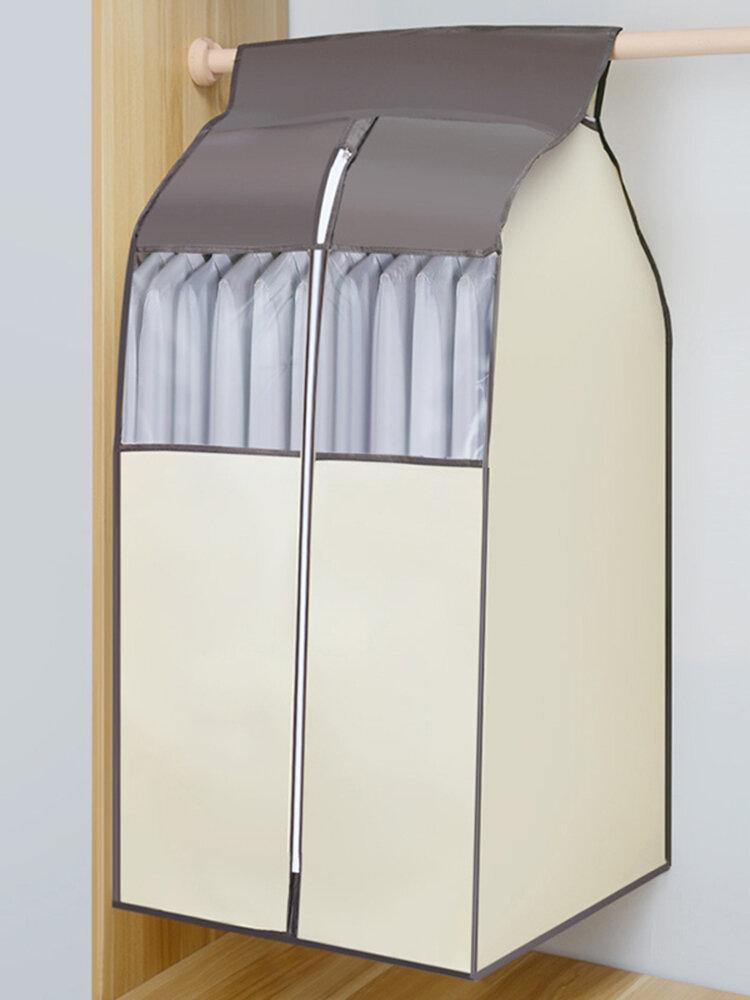 Almacenamiento de ropa colgante de tela no tejida de 3 colores Bolsa Protector de ropa anti-suciedad