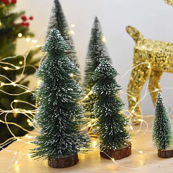 Hot-sale designer Christmas Decoration Supplies Artificial Christmas Trees Small Simulation Plant Flower Accessories Online - NewChic