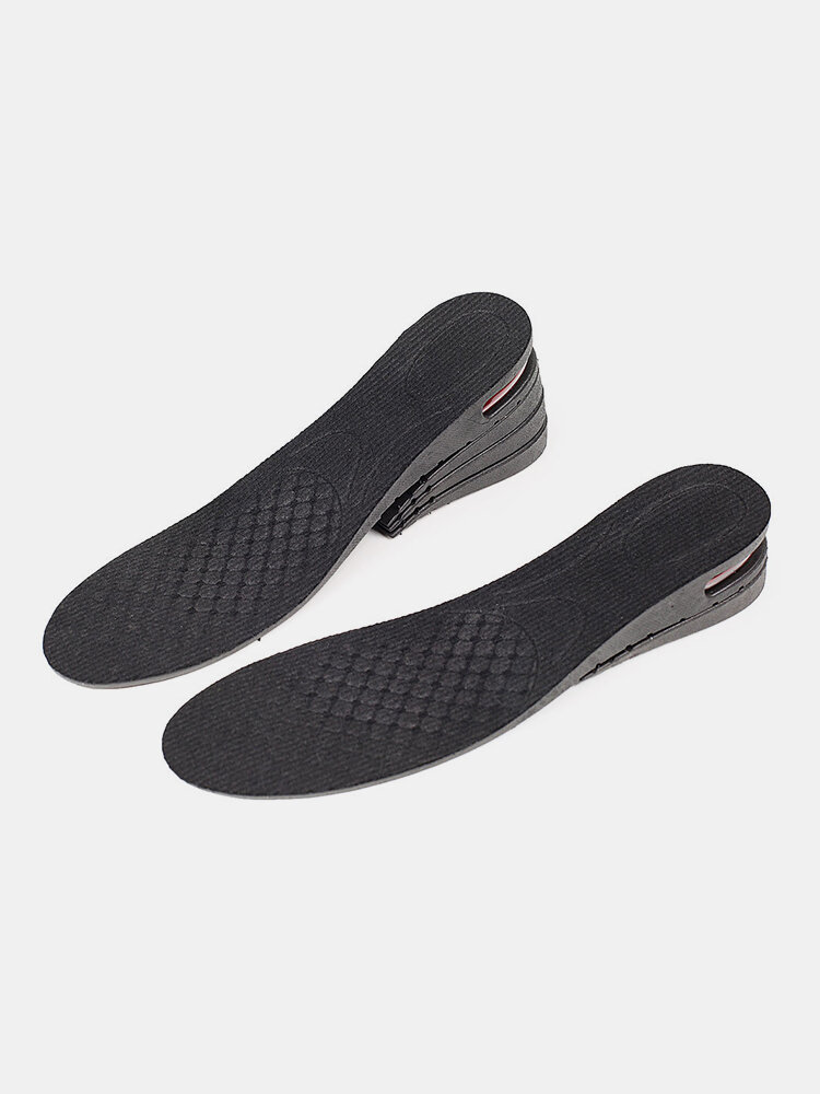 Multilayer Inner Heightening Insoles Damping Detachable Sports Pads
