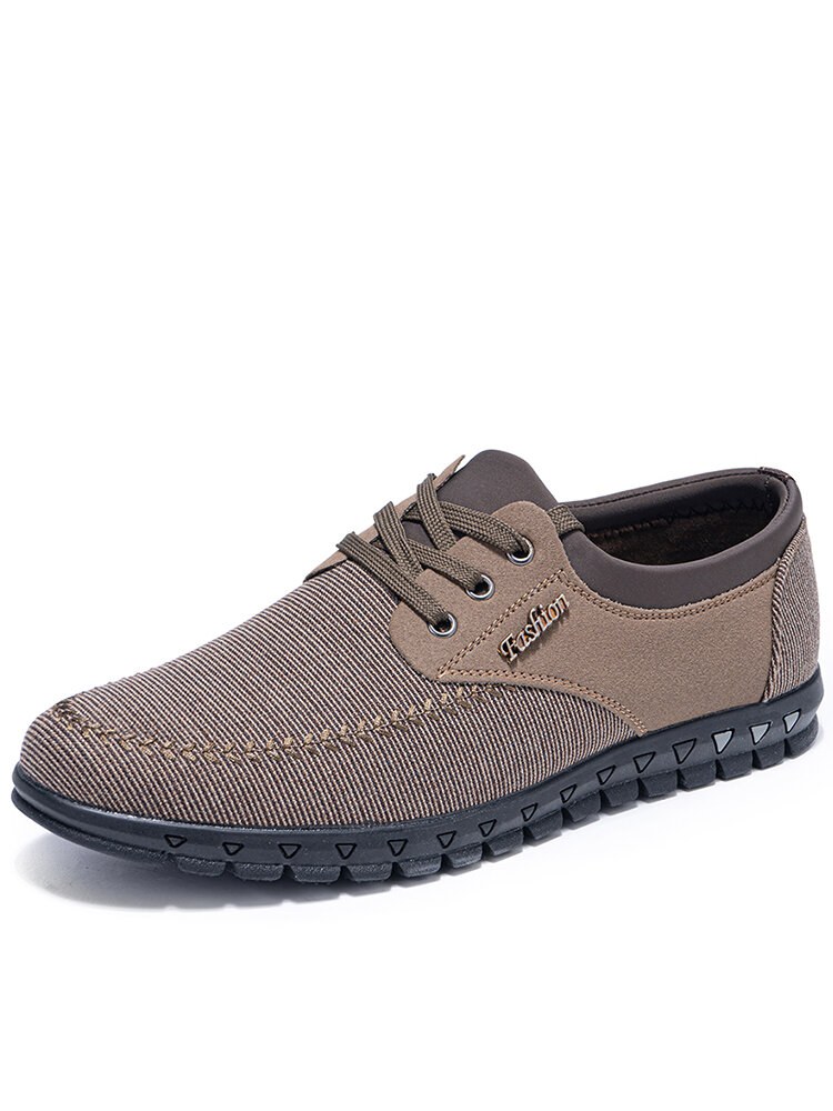 Men Old Peking Cloth Breathable Non Slip Casual Shoes