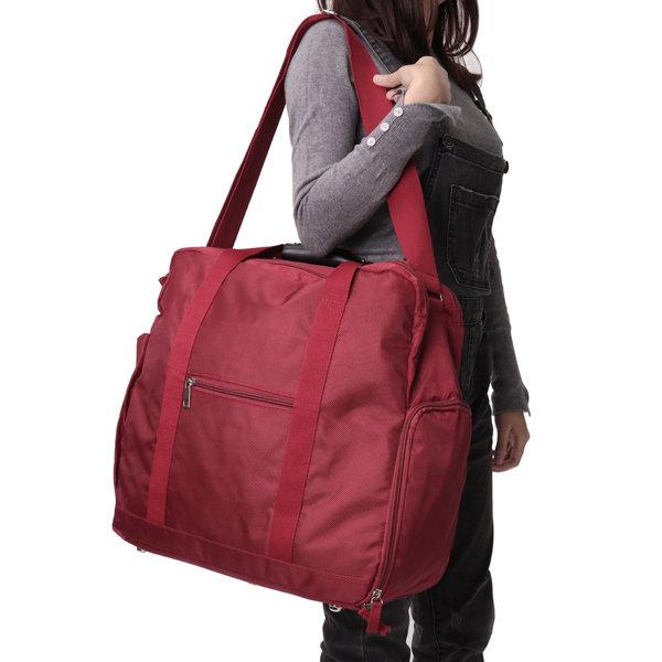 男性と女性のための大容量ナイロン旅行バッグ荷物バッグ