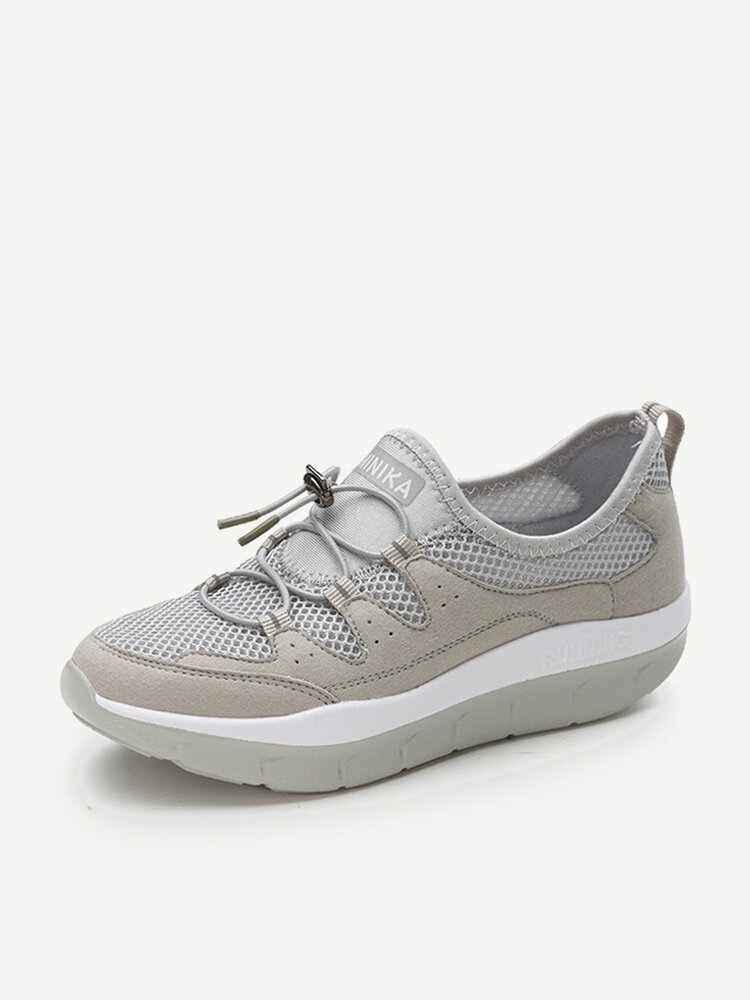 Rocker Sole Breathable Trainers For Women
