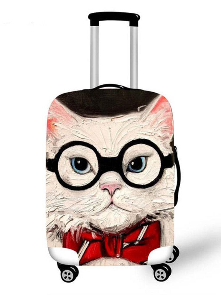 Personalisierte Katze Gepäck Schutzhülle wasserdicht und verschleißfest
